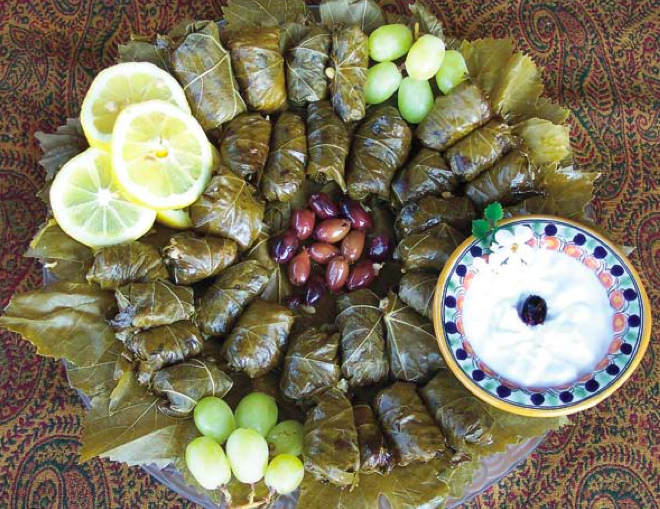 Yalanchi (Stuffed Grape Leaves) picture