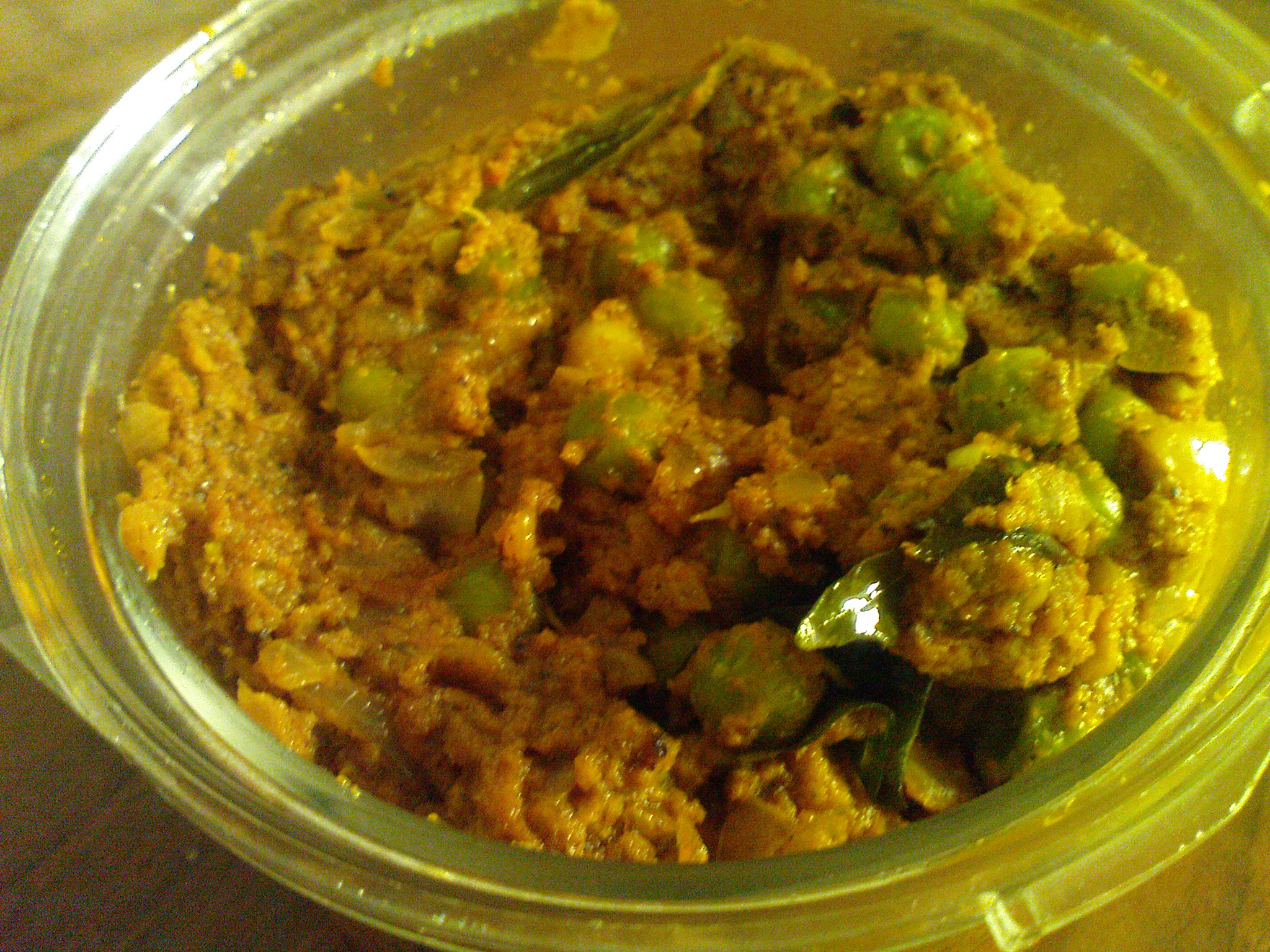 Green Peas Masala ( Green Matar curry dry) picture