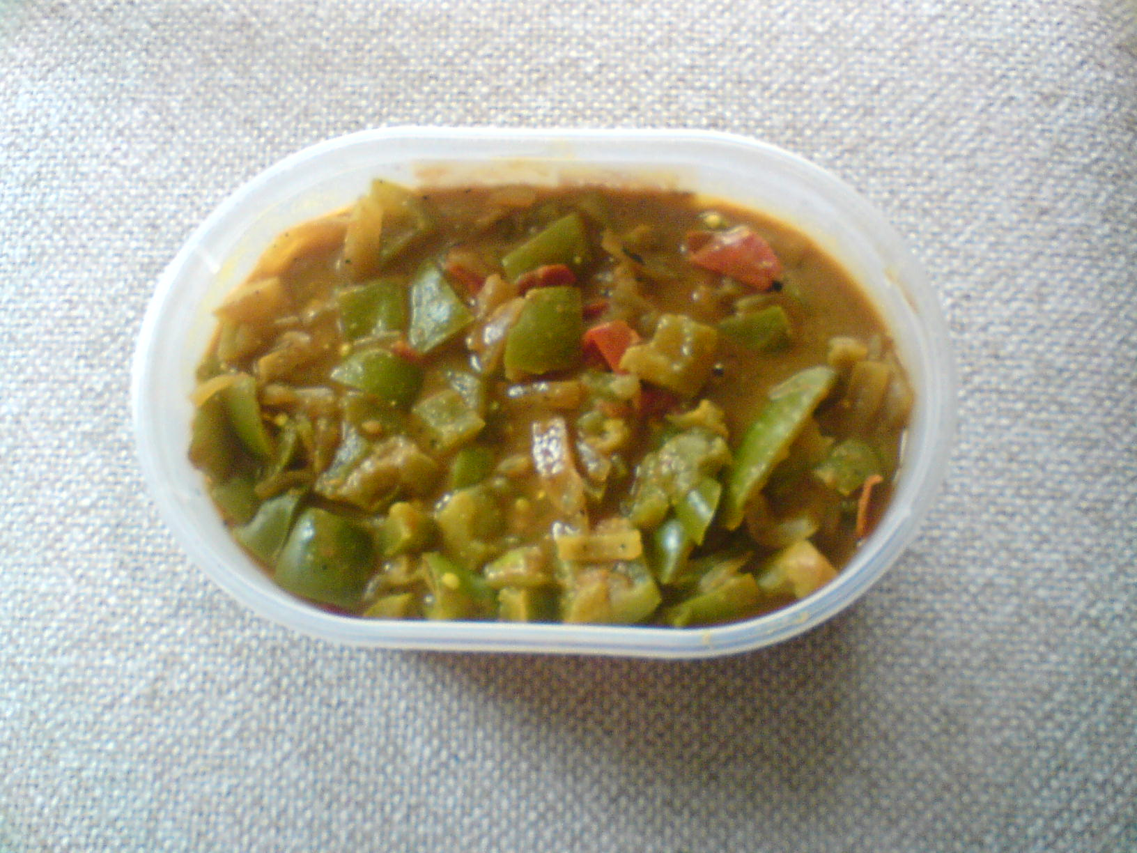 Green Pepper Masala picture