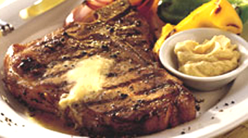 Grilled Peppercorn T-Bones picture