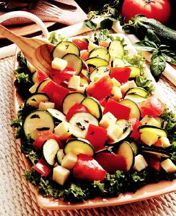 Herbed Tomato & Cheese Salad picture