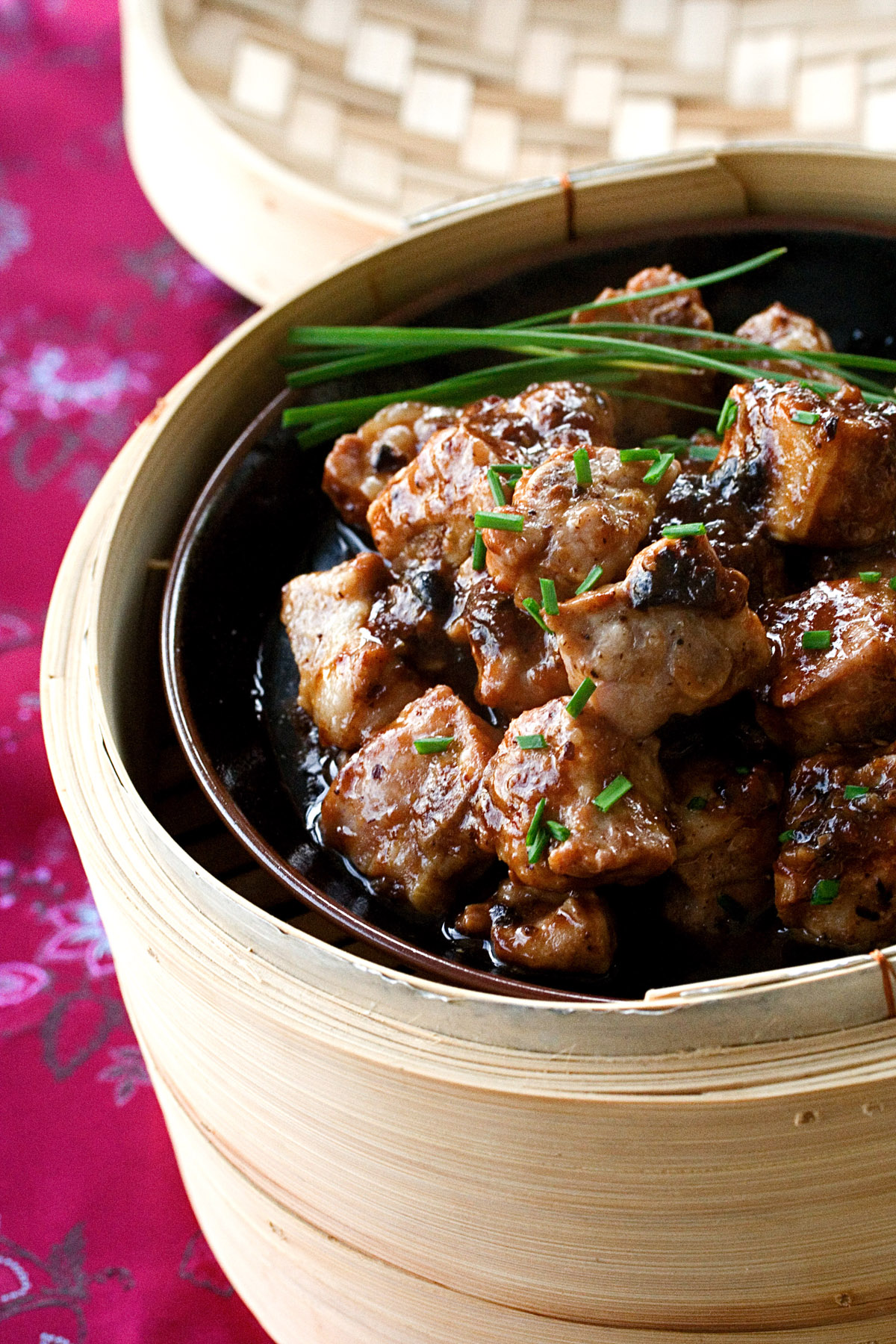 Chinese Steamed Spareribs with Black Bean Sauce picture