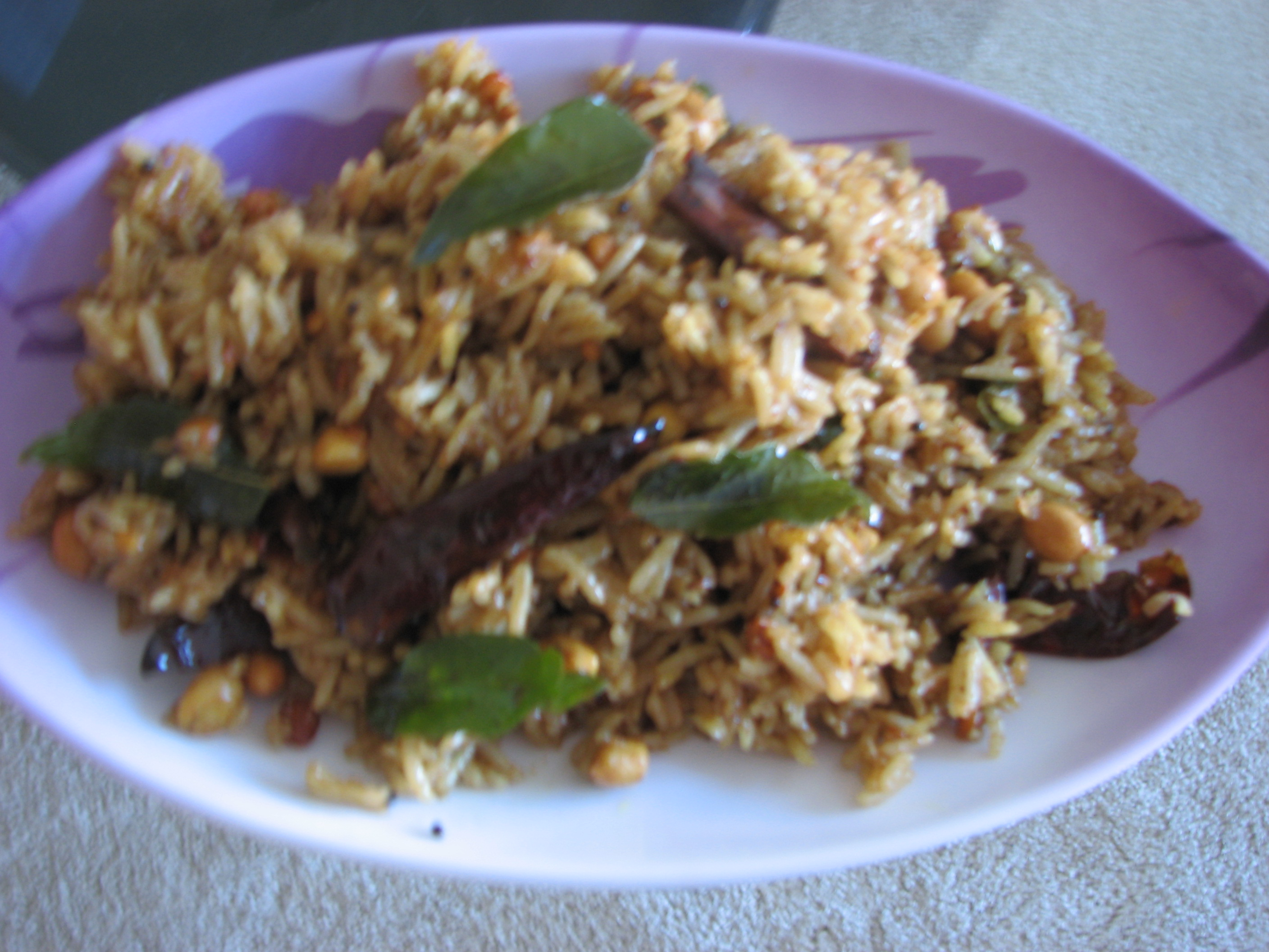 Tamarind rice (easy) picture