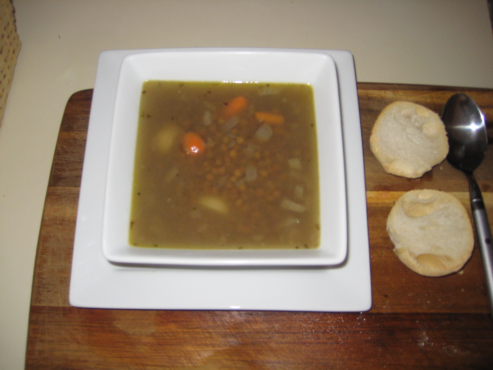 Green Lentil Soup picture