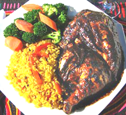 Jamaican Jerk Chicken picture