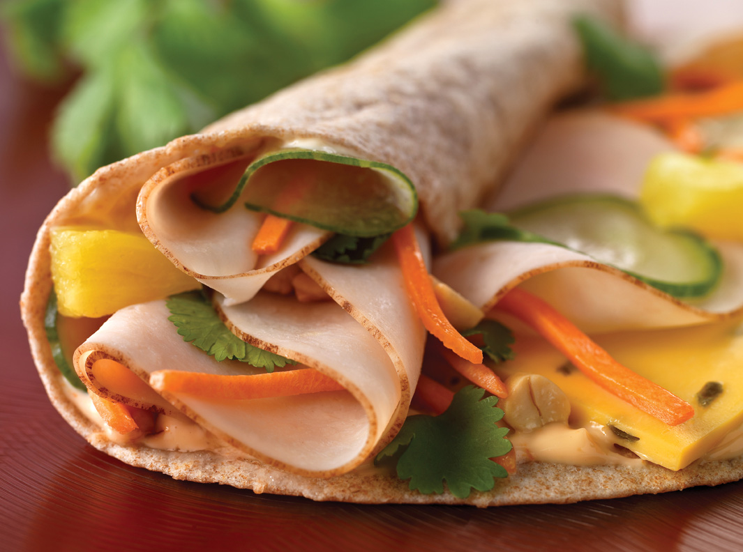 Kung Pao Chicken Wrap picture