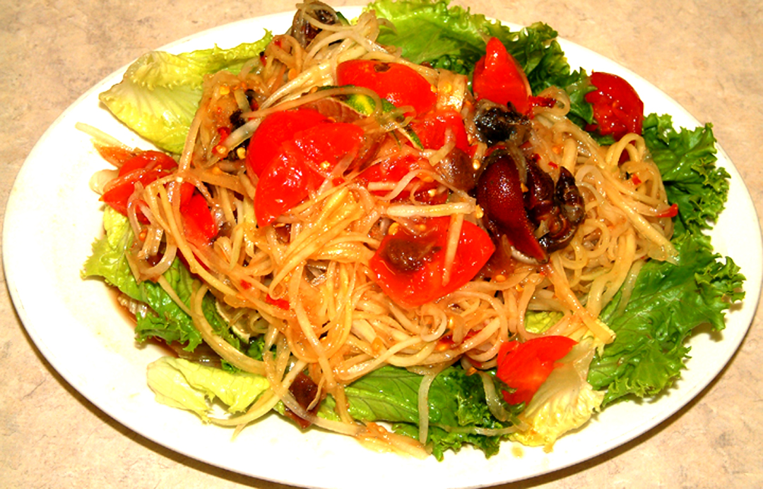 Lemon-Basil Vegetables and Noodles picture