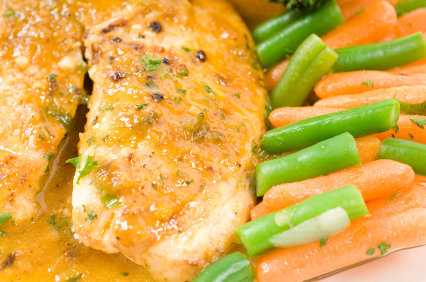 Mahi Mahi with Green Beans picture