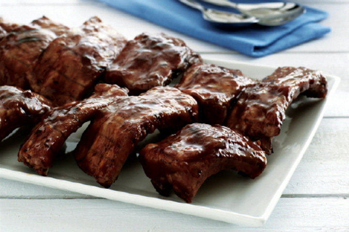 Grilled Barbecue Ribs picture