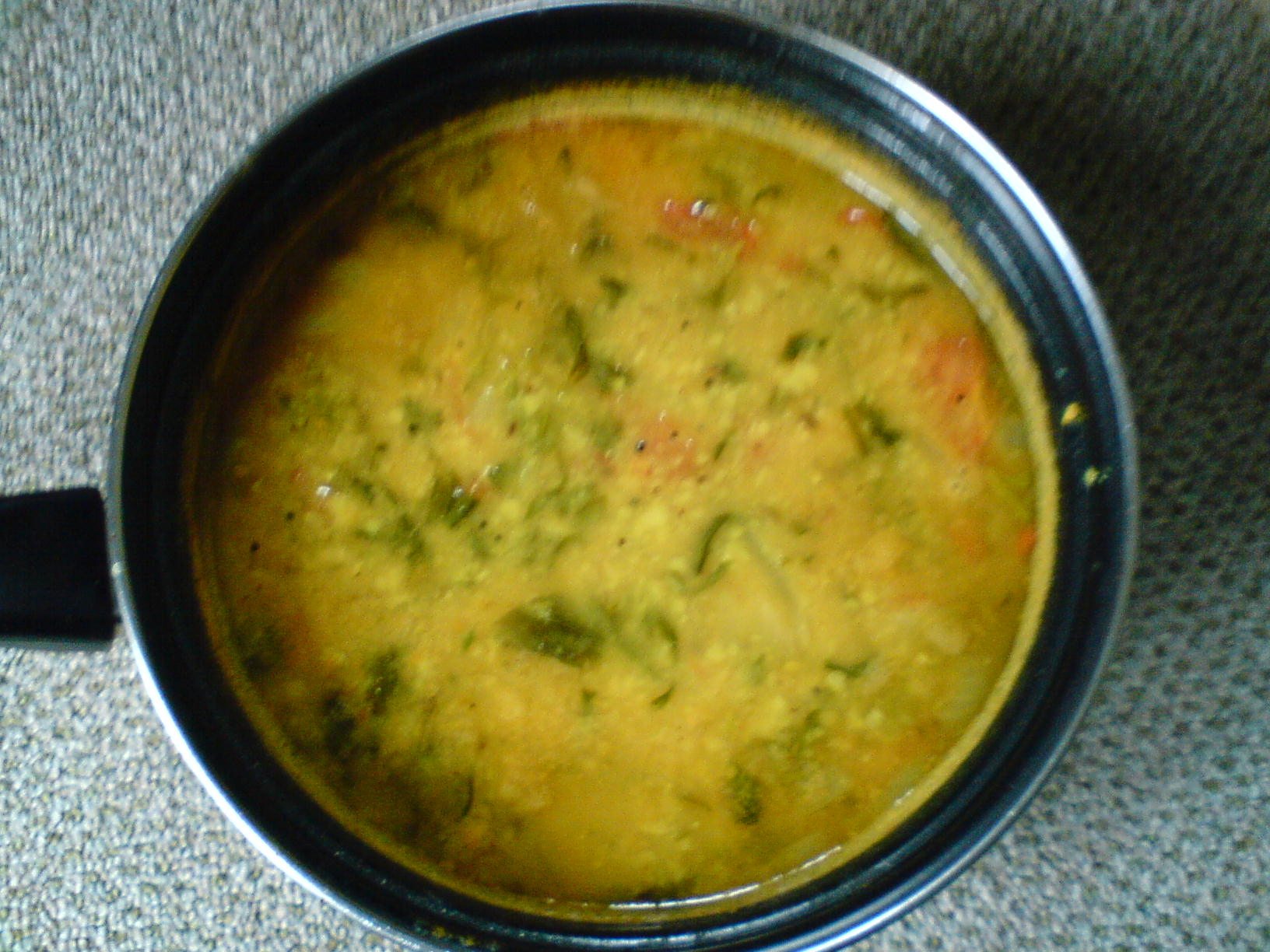 Methi And Toor Dal Curry picture