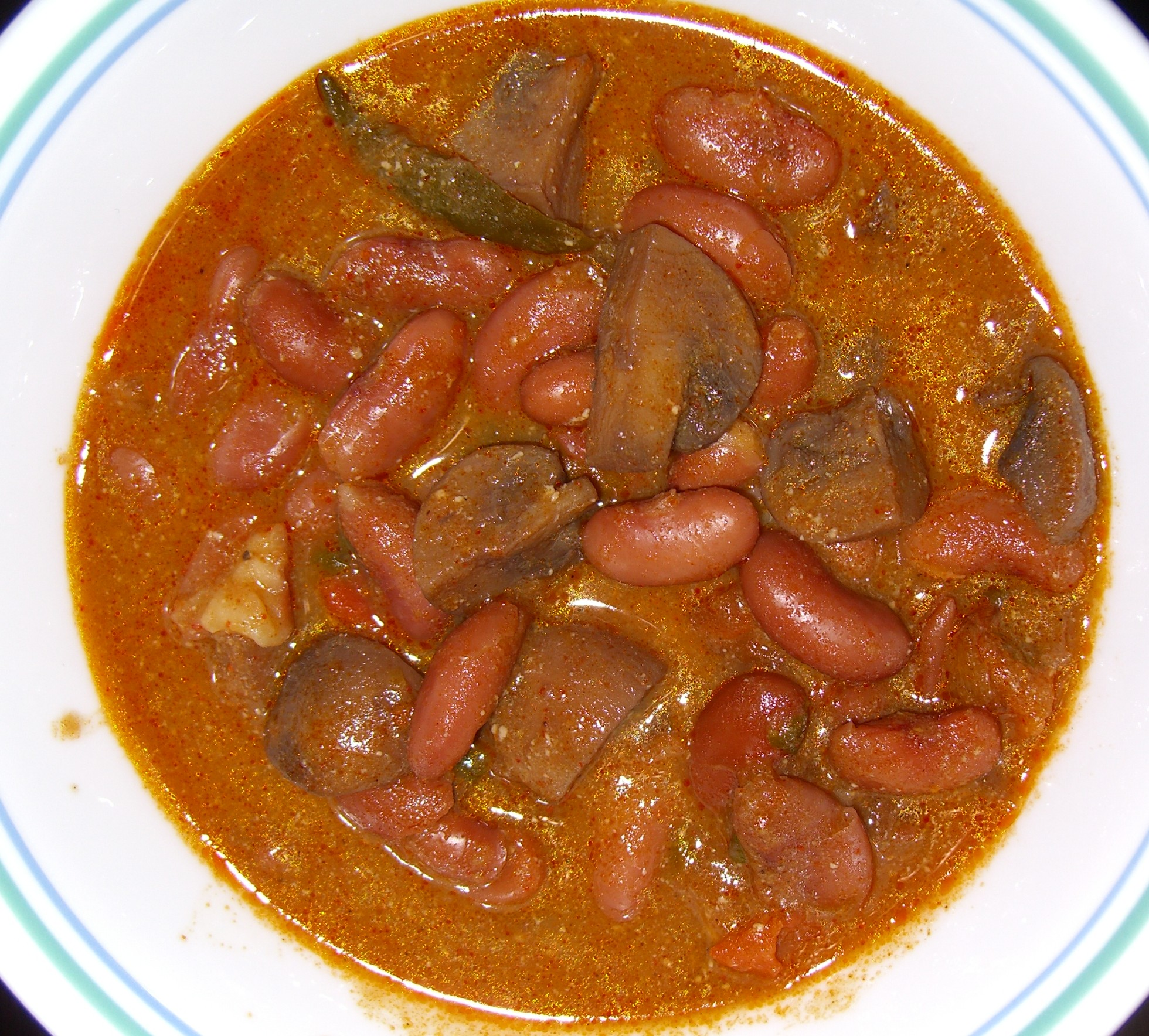 Mushroom and Rajma Curry picture