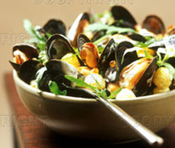 Mussels with Mustard Sauce picture