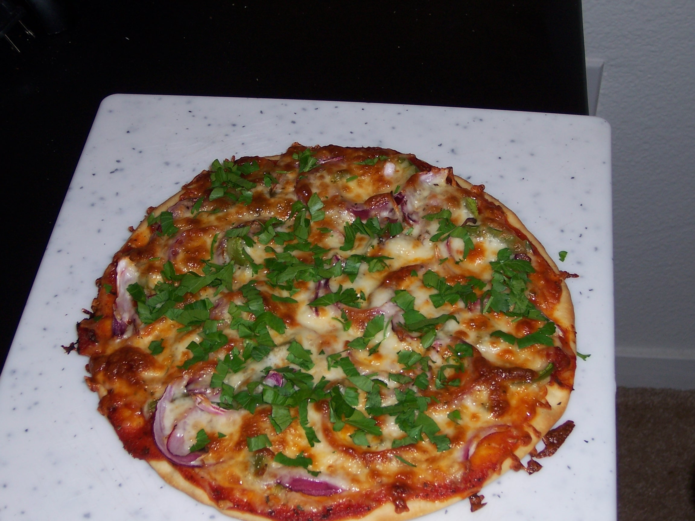 Veg Thin Crust Pizza picture