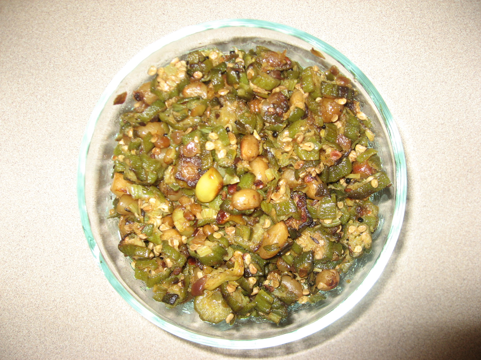 Bindi Fry with Groundnuts picture