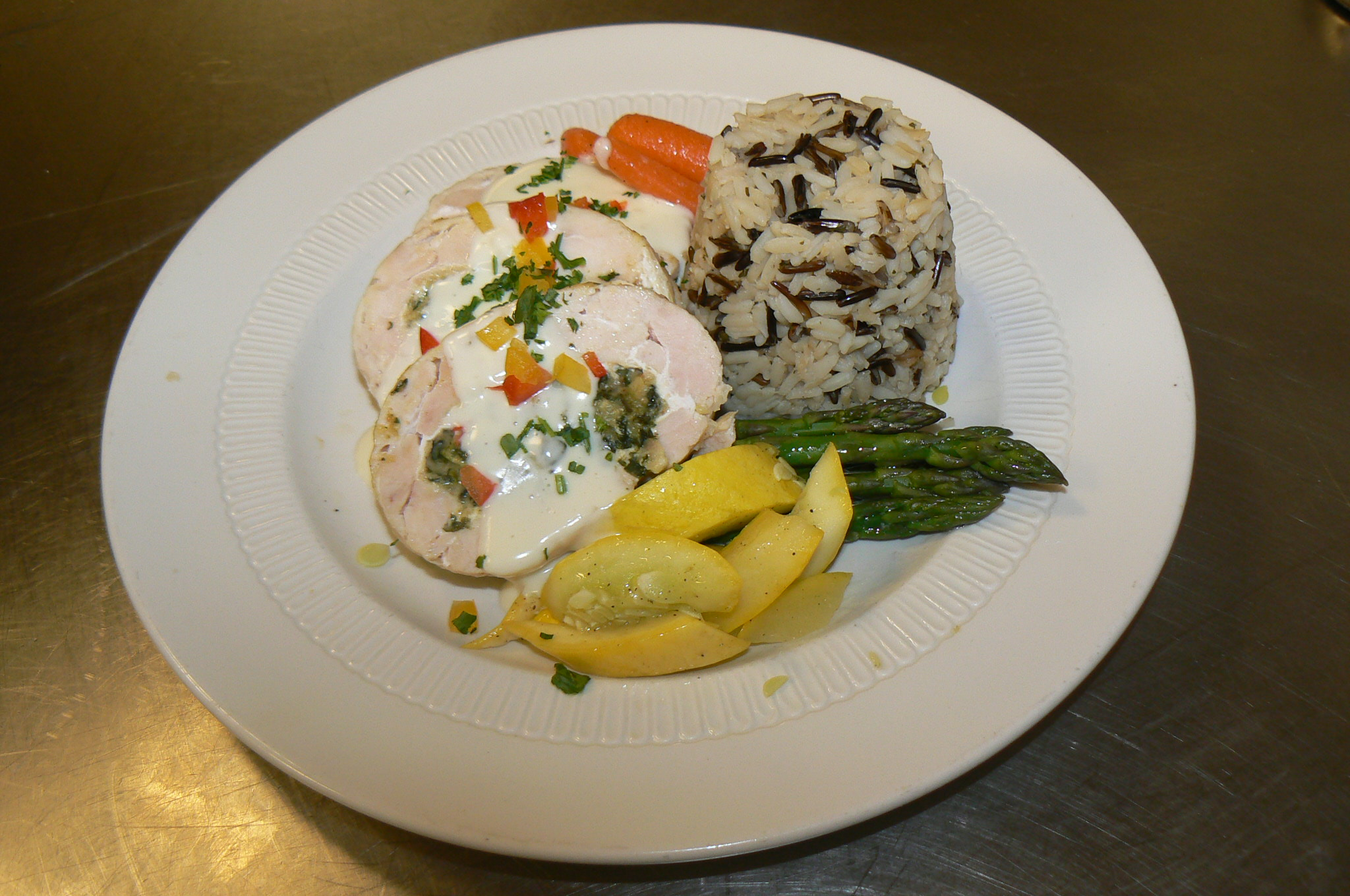 Stuffed chicken picture