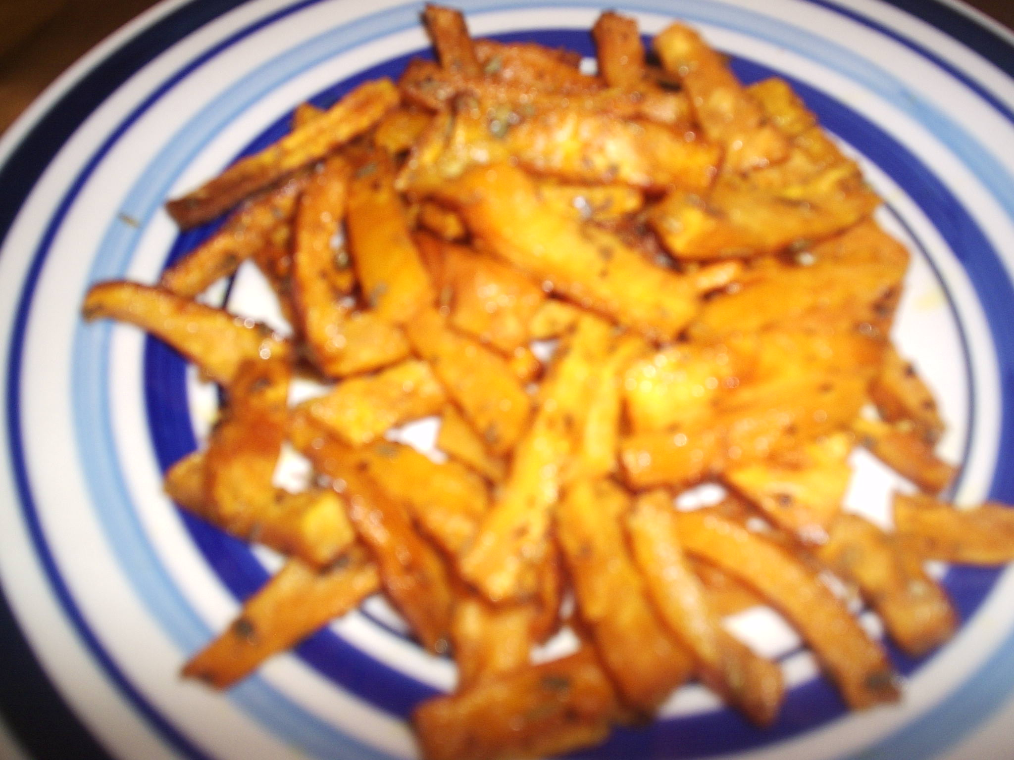 Baked Sweet Potato Fries picture