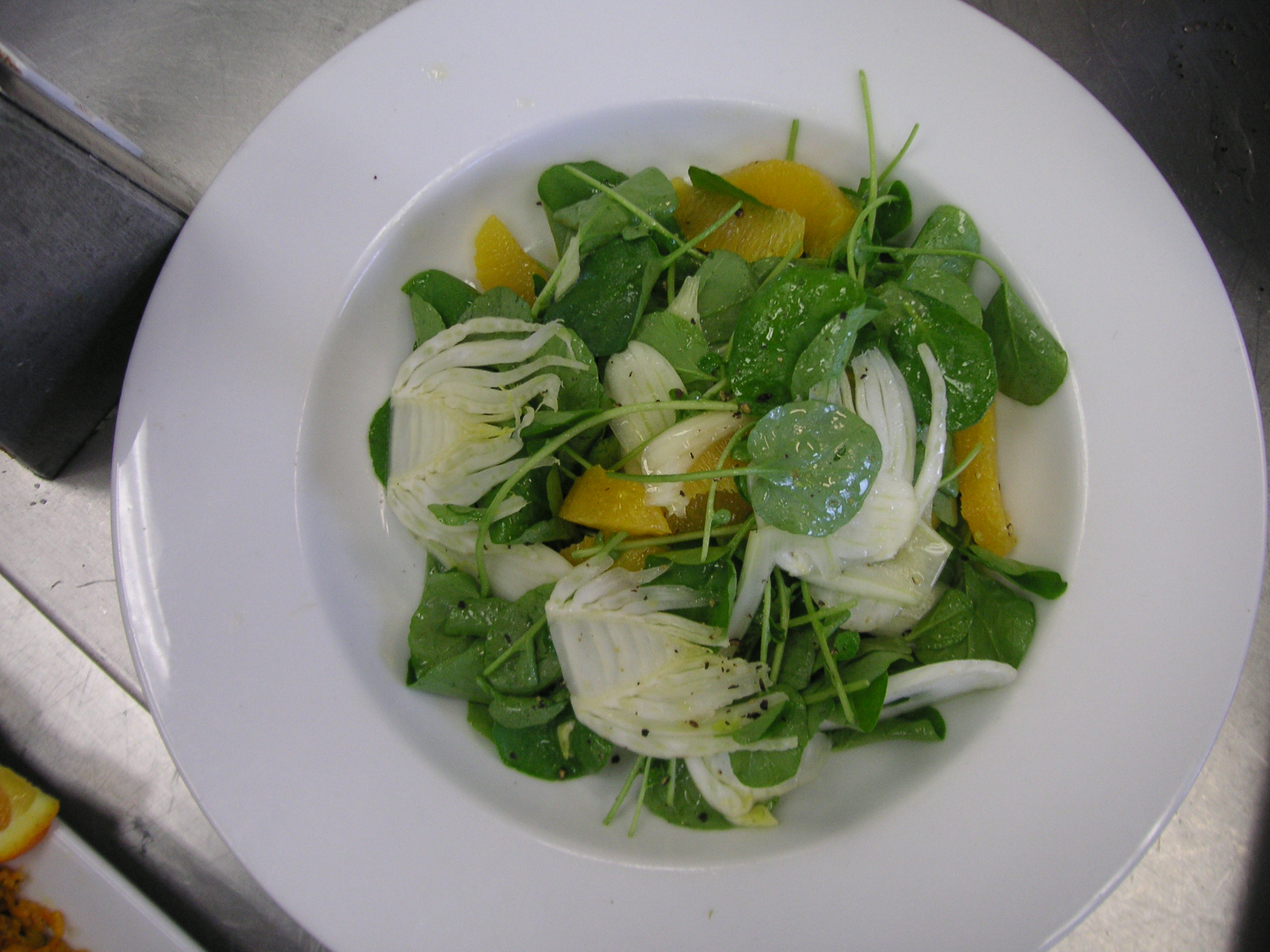 Orange-Fennel Salad w/Citrus Vinaigrette picture