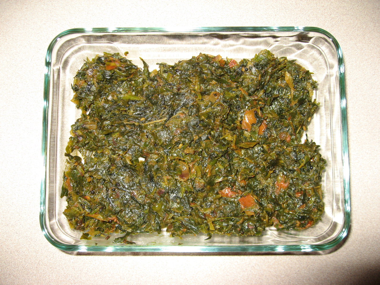 Palak Methi Fry picture
