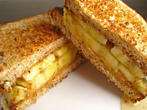 Banana & Cashew butter Sandwich picture
