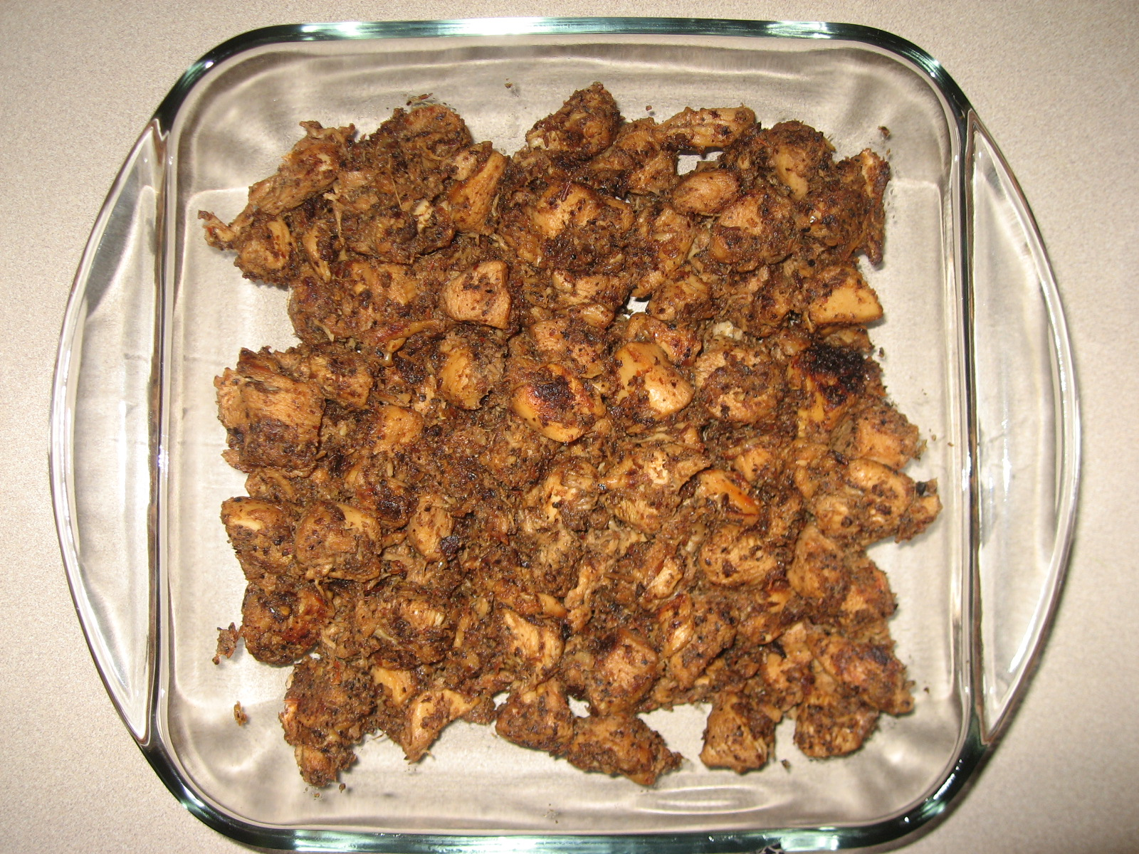 Pepper Chicken Fry picture