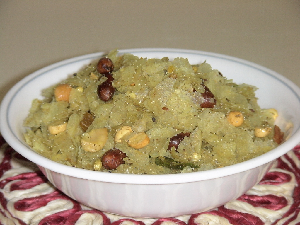 Thin Poha (Beaten/Pressed Rice)Chiwda picture