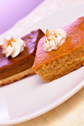 Pumpkin Pudding Cake  picture