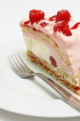 Raspberry Pudding Cake picture