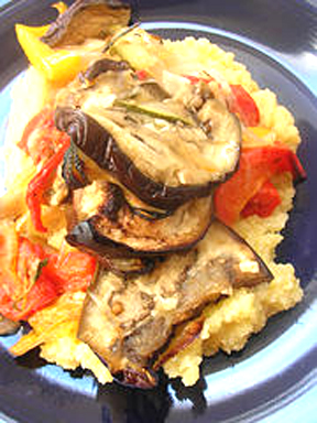 Ratatouille Polenta Bake picture