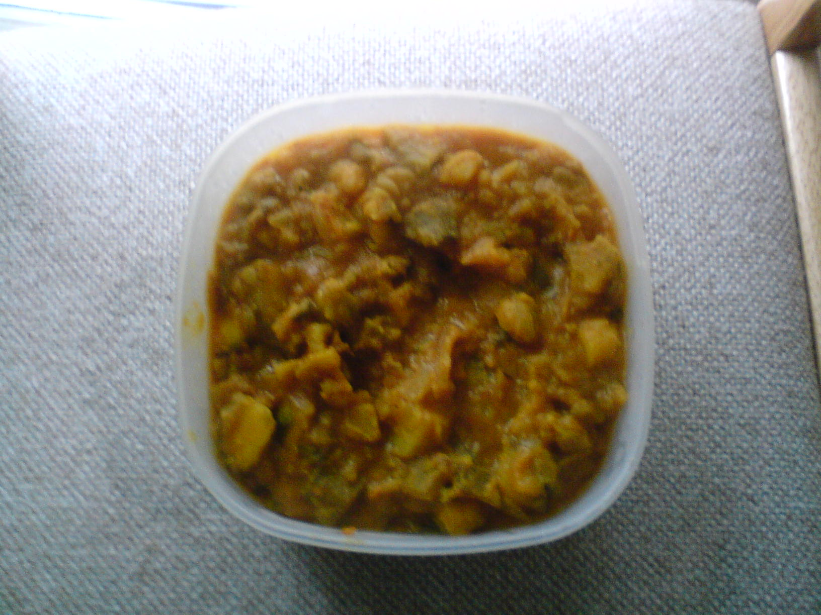 Simple Raw Banana Curry picture