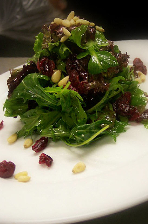 Mixed Organic Greens  - Strawberry Vinaigrette picture