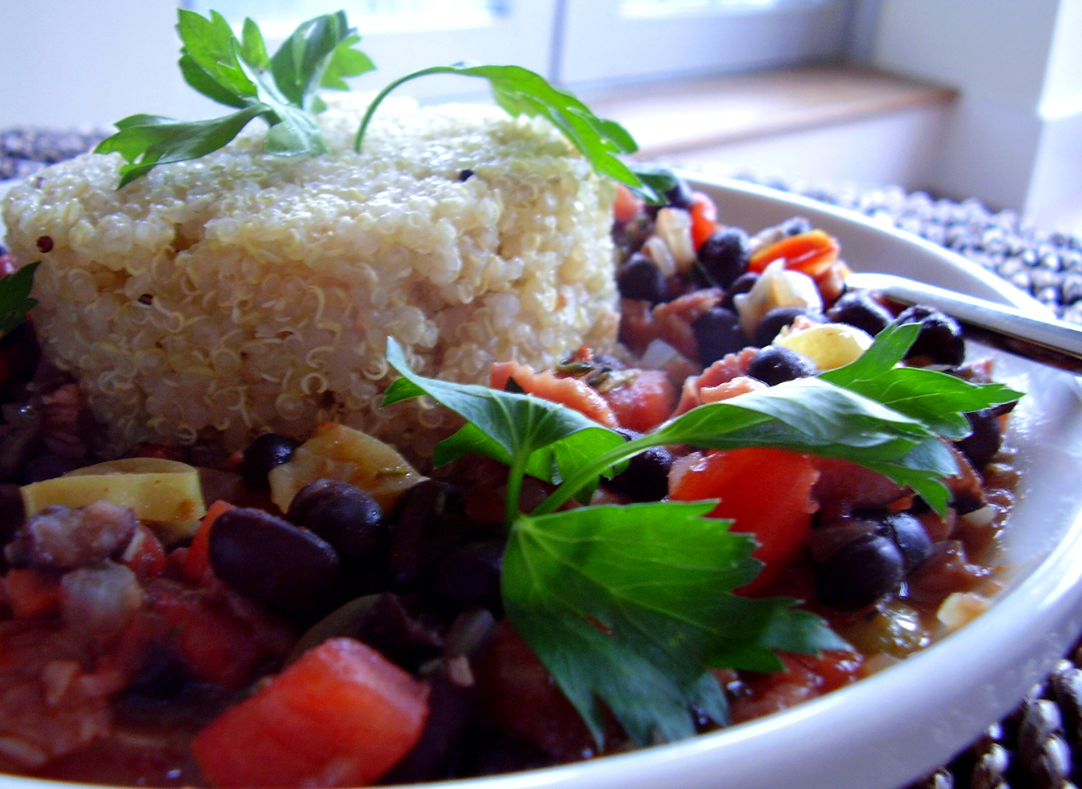 Spicy Black Beans and Quinoa picture