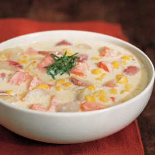Salmon and Corn Chowder picture