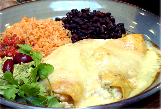 Salsa Rice Enchiladas picture