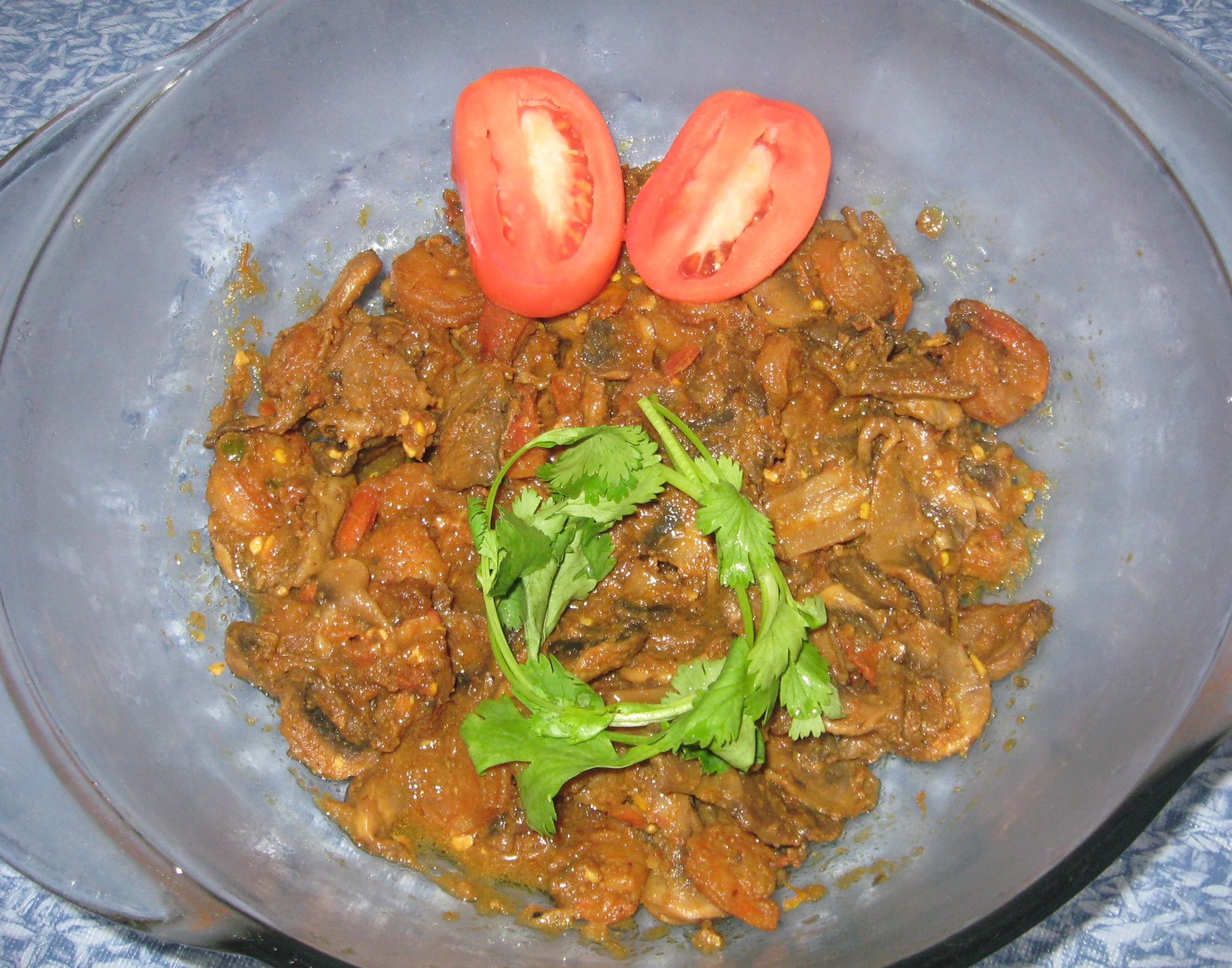 Shrimp & Mushroom Curry picture