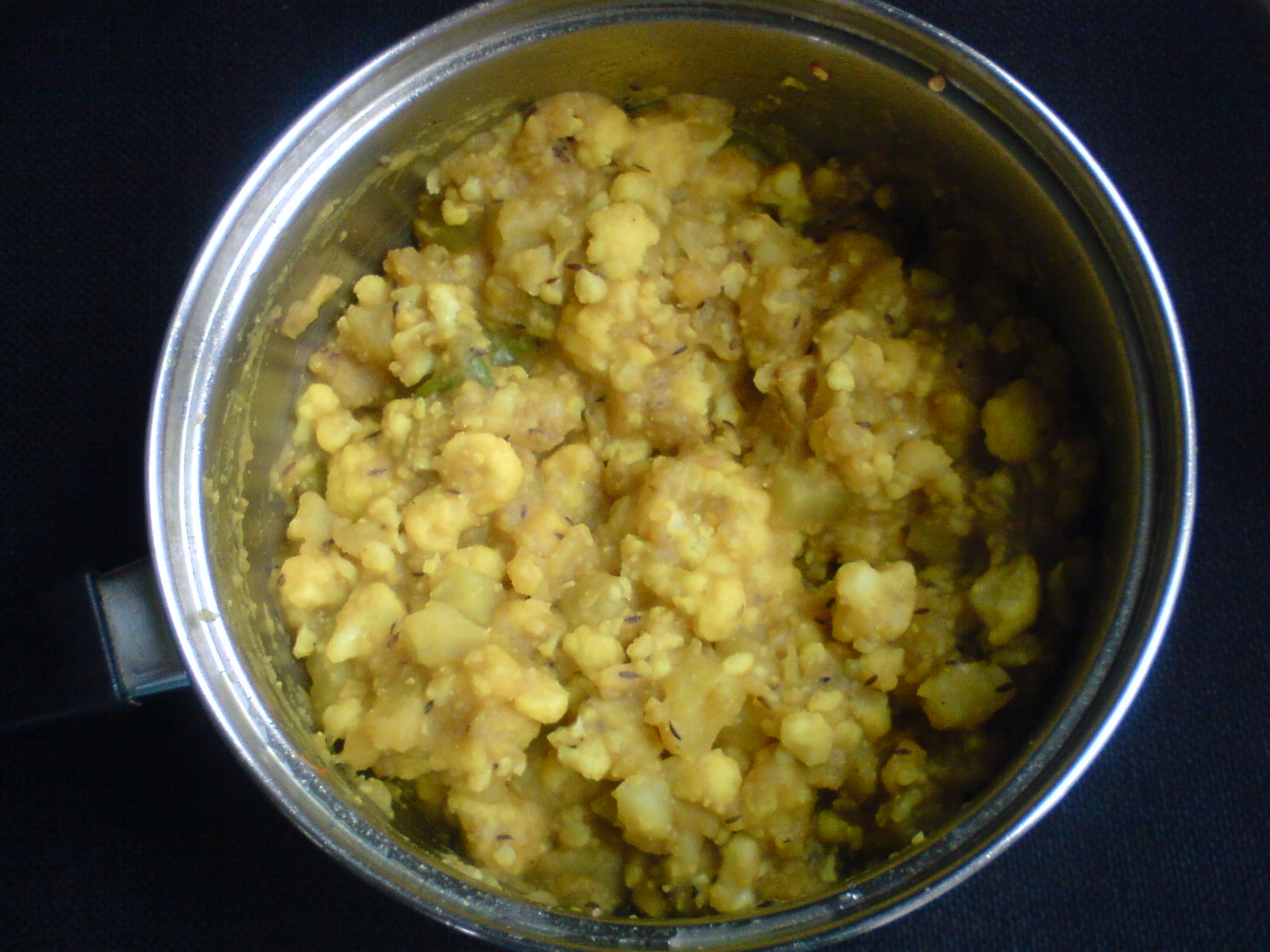 Simple Aloo Gobi Curry picture
