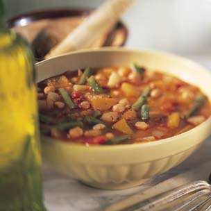 Spanish Pumpkin and Bean Soup picture