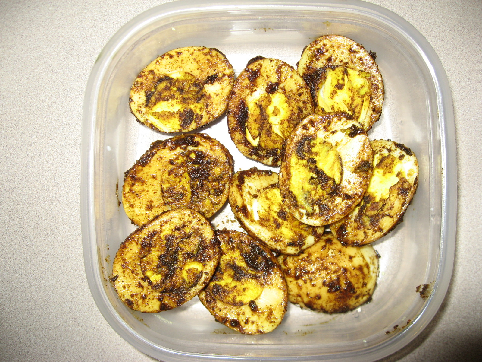 Spicy Boiled Eggs picture