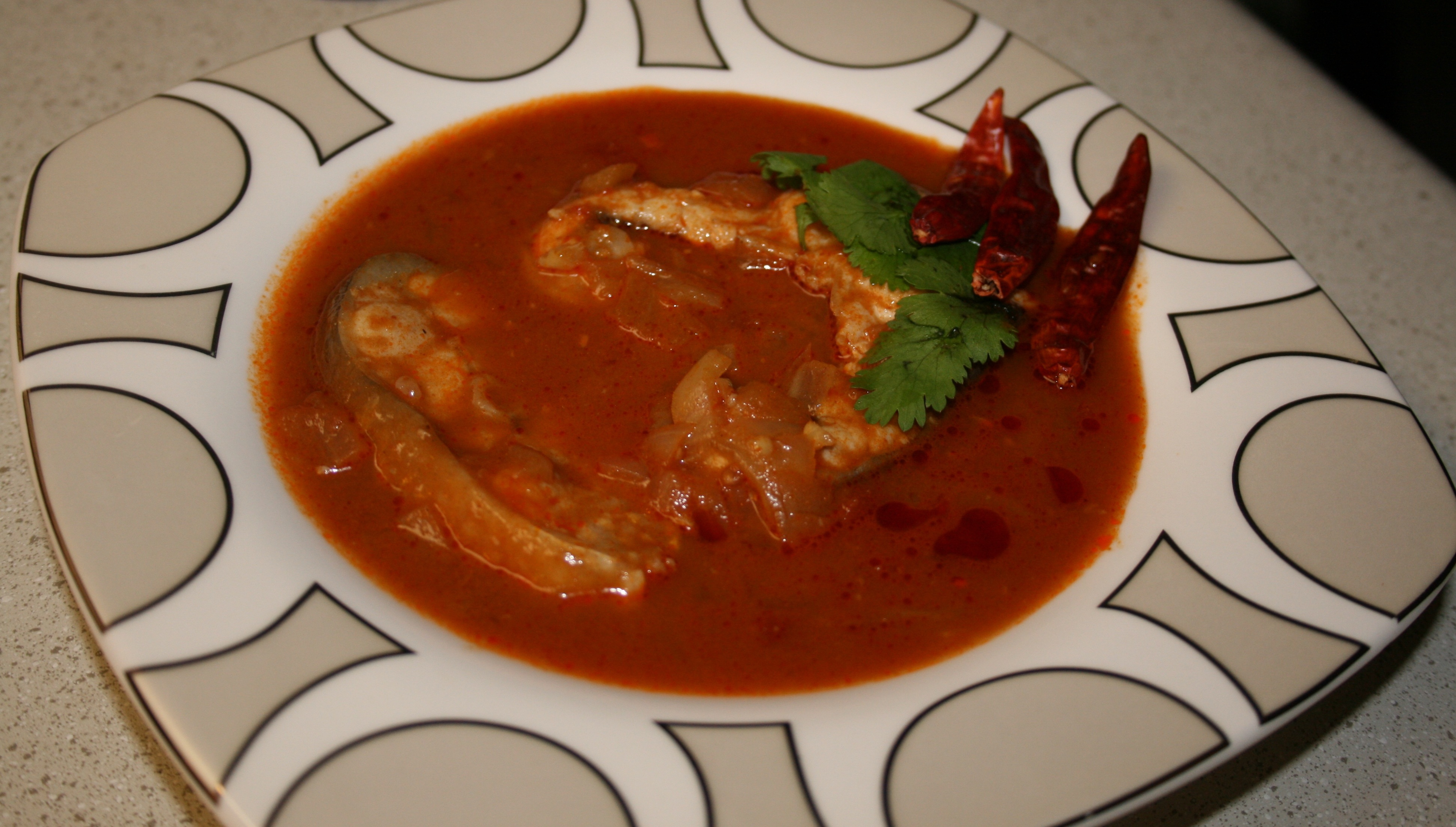 Spicy and Juicy Madras Fish Curry picture
