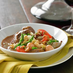 Spring Lamb Stew with Mashed Potatoes picture