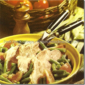 Stewed Pork Neck With Green Beans  picture