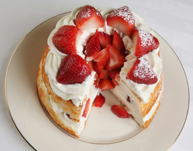 Quick Baked Strawberry Shortcake picture