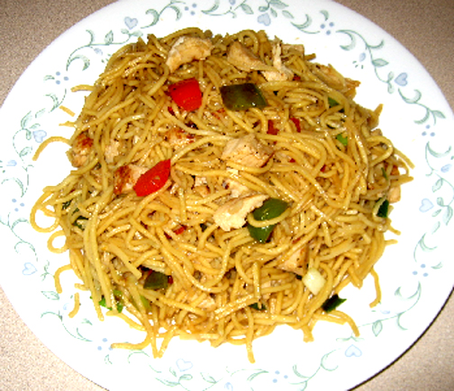 Szechwan Chicken Noodles picture