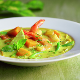 Thai Shrimp and Squash Soup picture