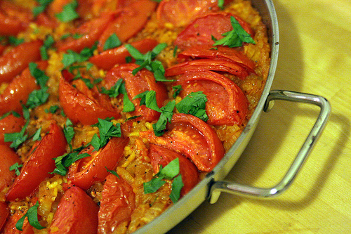 Paella With Tomatoes picture