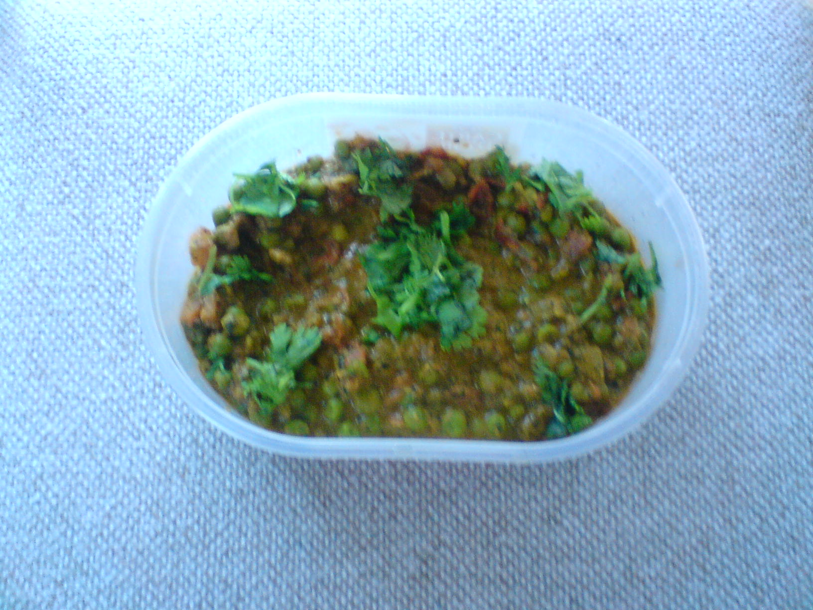 Tomato Curry With Kasuri Methi And Peas picture