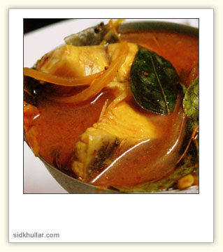 Tomato Fish Curry picture