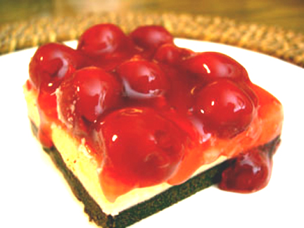 Triple Chocolate Cherry Bars picture