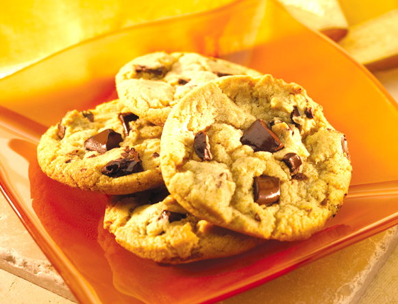 Triple Chocolate Chunk Cookies picture