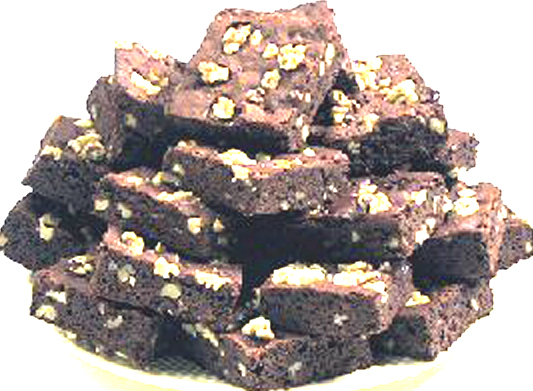 White Candy Brownies picture