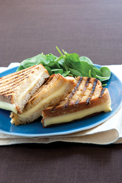 Roasted Garlic and White Wine Parrano Panini  picture